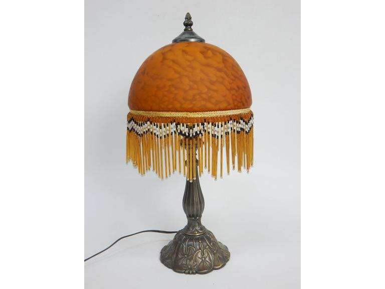Glass Shade Parlor Lamp