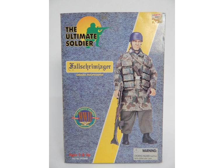 Ultimate Soldier German Paratrooper Action Figure