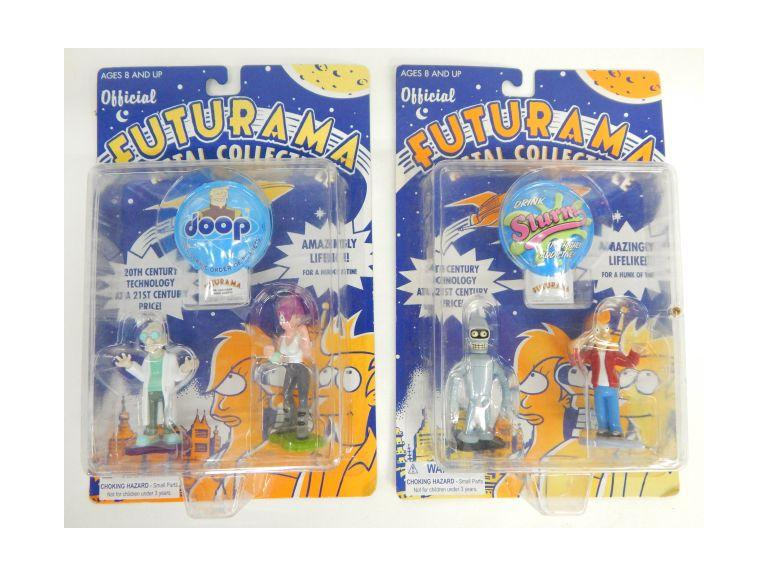 Futurama Die-Cast Action Figures