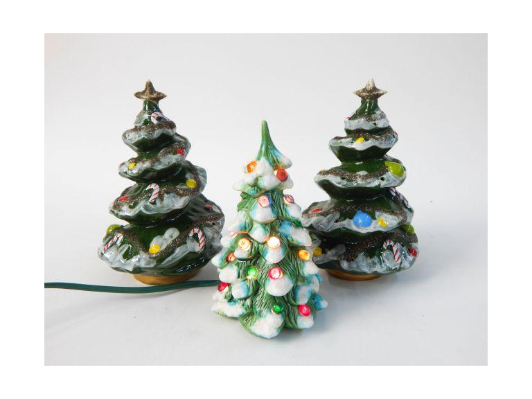 Kreiss Small Ceramic Christmas Trees