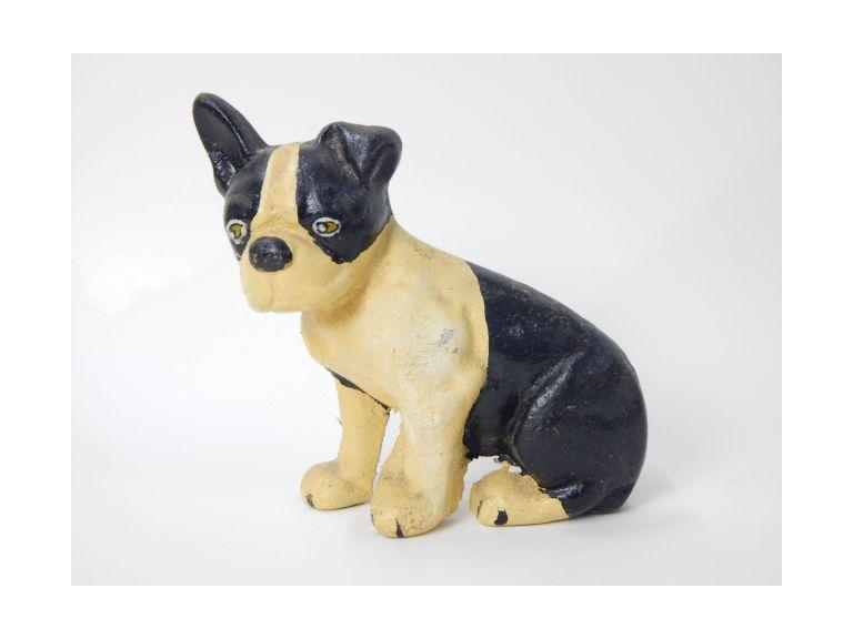 Cast Iron Terrier Dog Doorstop