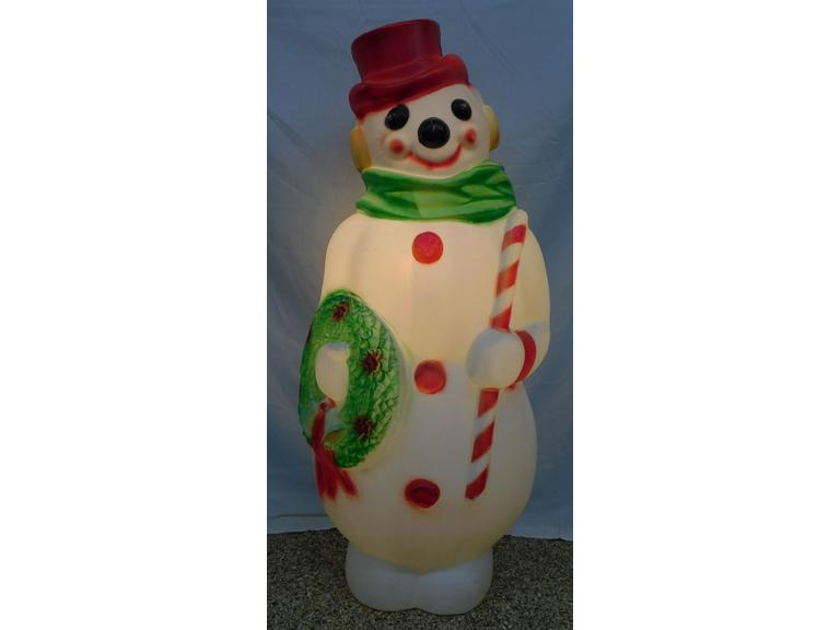 "45""T Empire Snowman Blow Mold"