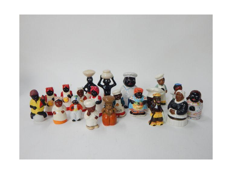 Black Americana Figurines & S&P collection