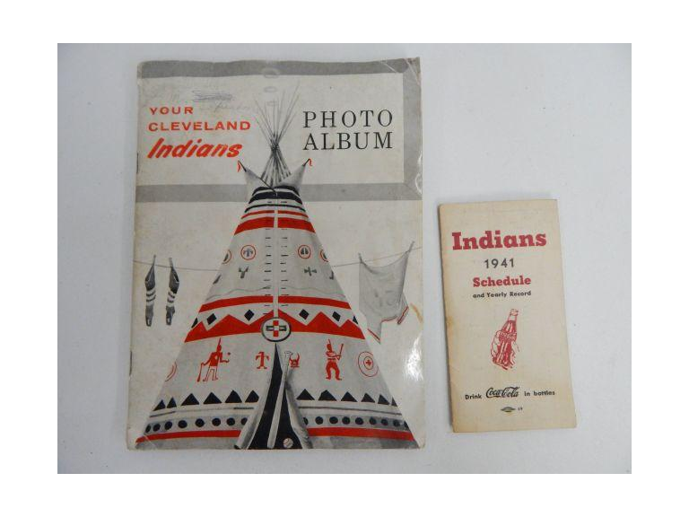 1957 Cleveland Indians Photo Album