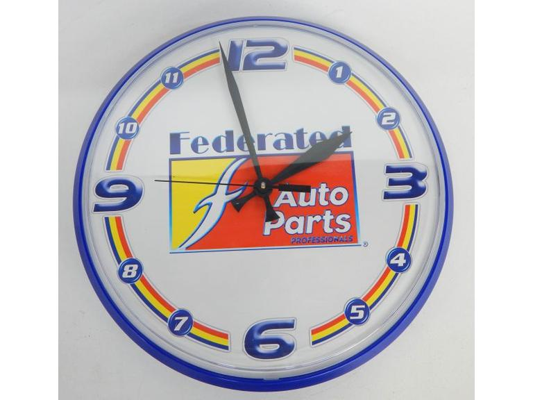 New Federated Auto Parts Wall Clock