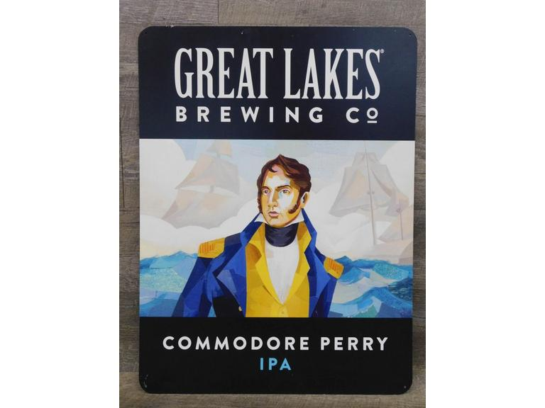 Great Lakes Brewing Commodore Perry Sign