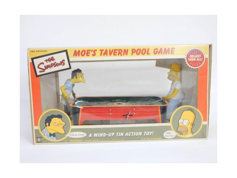 Simpson Tin Wind-Up Pool Game