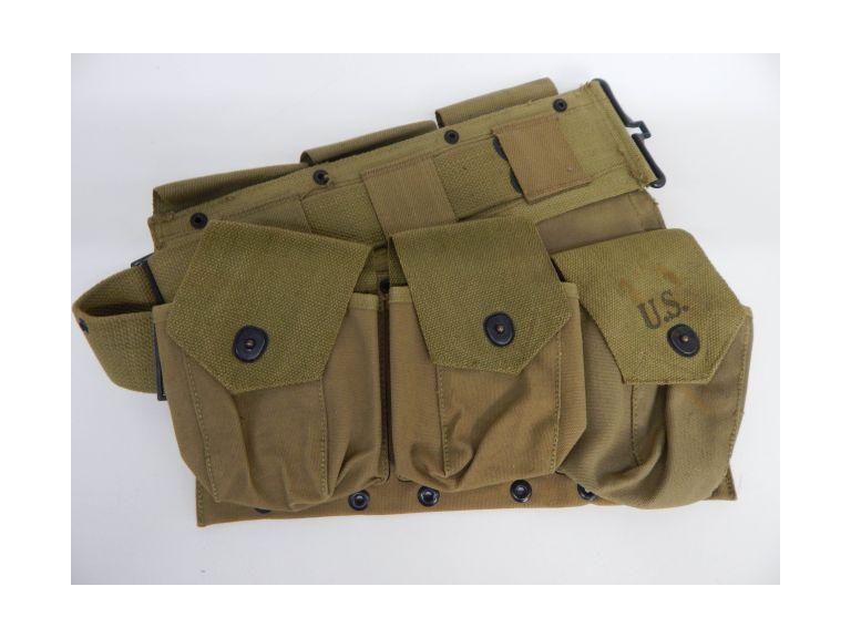 WW2 Era Canvas Waist Pouch