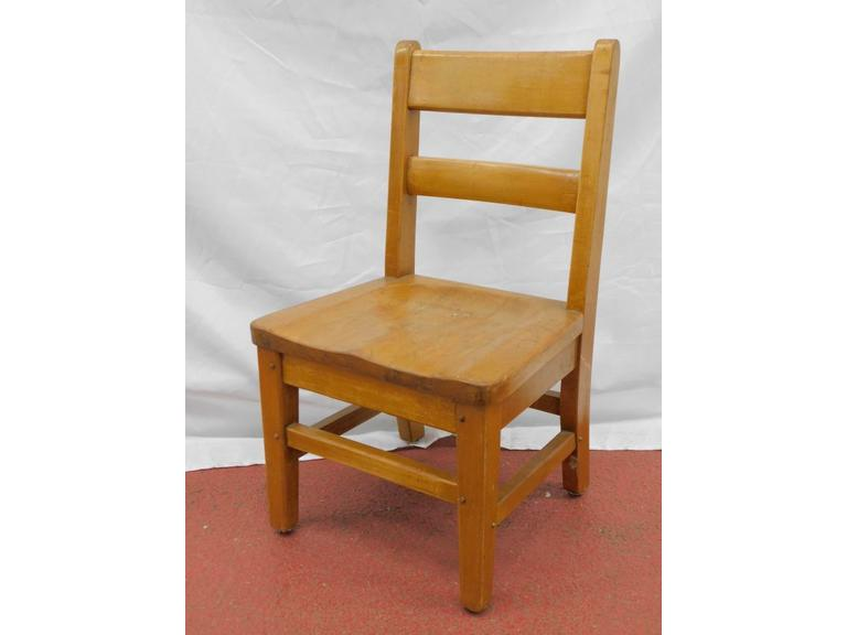 Solid Wood Child's Chair