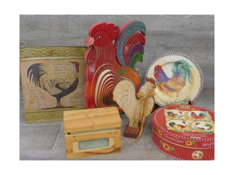 Folk Art Rooster and More!