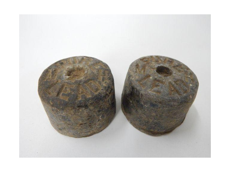 Pair of 5 Pound Lead Weights
