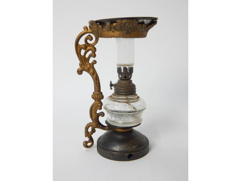 Antique Cresolene Oil Lamp Vaporizer