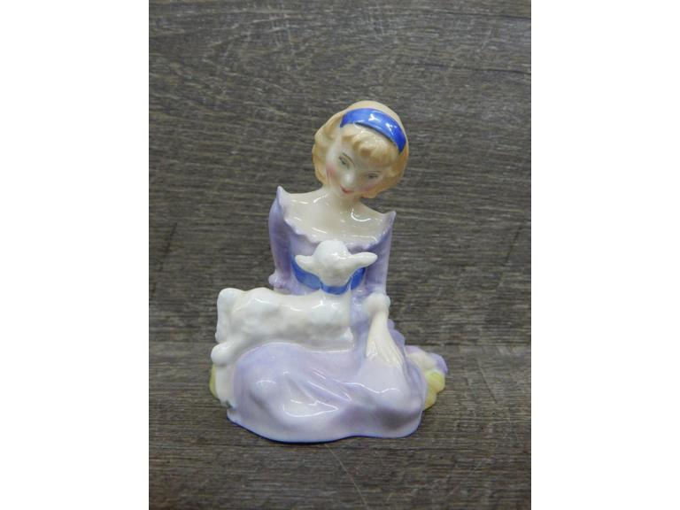 Royal Doulton 1948 Mary had a Little Lamb Figurine