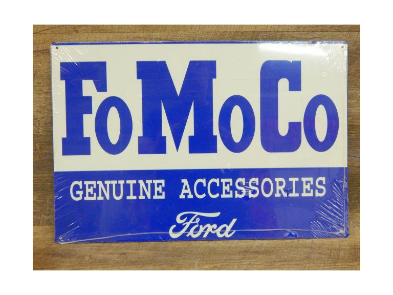 Ford FoMoCo Tin Metal Sign