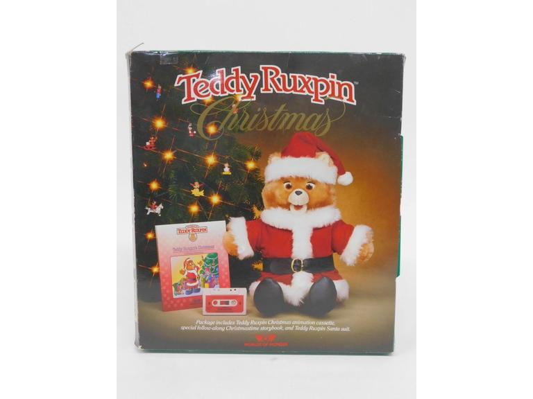 1985 Teddy Ruxpin Christmas Set