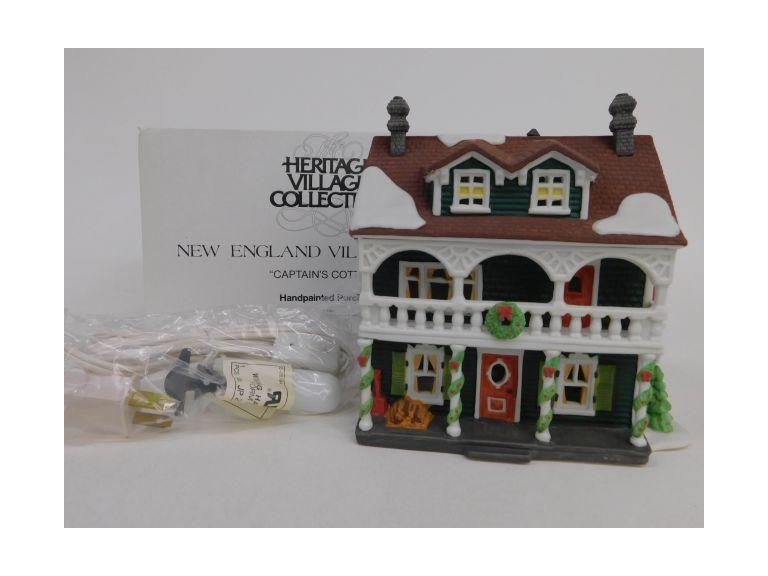 Dept. 56 Captain's Cottage
