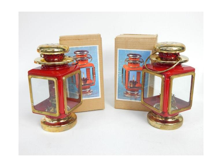 Pair of New old Stock Lanterns