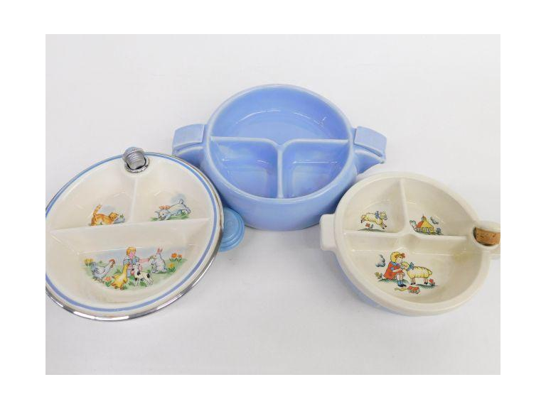 Vintage Warming Dishes