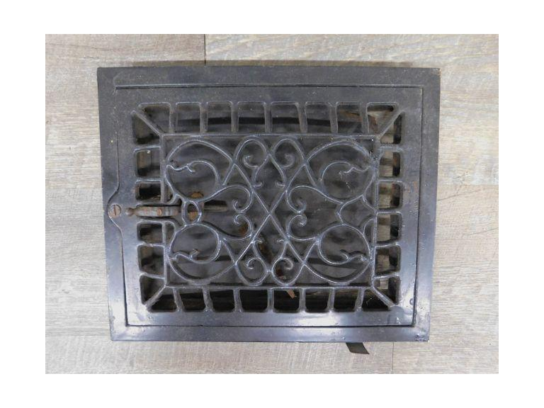 Old Cast Iron Grate