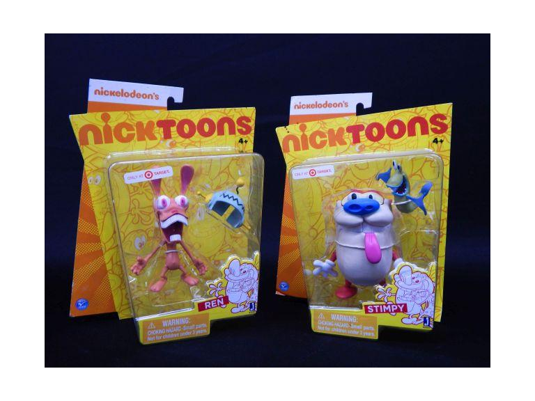 Ren & Stimpy Action Figures in the Packages