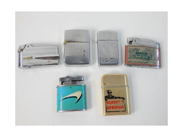 Collection of Old Flint Lighters