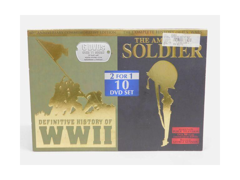 Definitive History of WWII & The American Soldier DVD Set