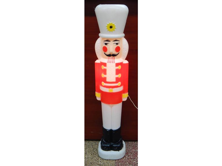 Blow Mold Christmas Soldier