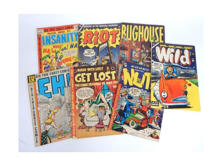 1954 Humorous Comic Books