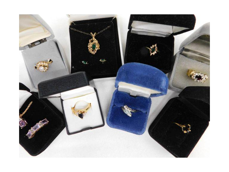 Sterling, Gold Plate and Fashion Jewelry