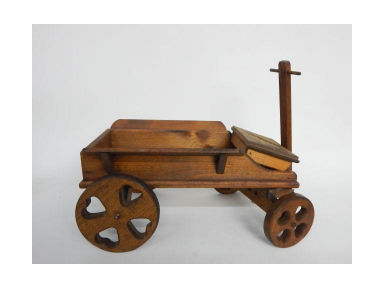 Decorative Wooden Toy Wagon