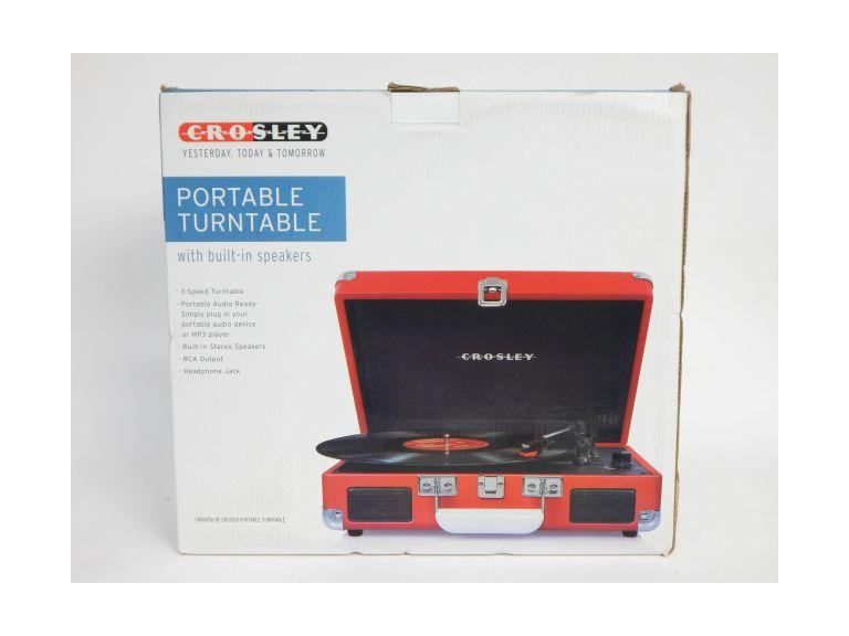New Crosley Portable Turntable