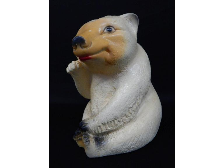 Large Ceramic Bear Coin Bank