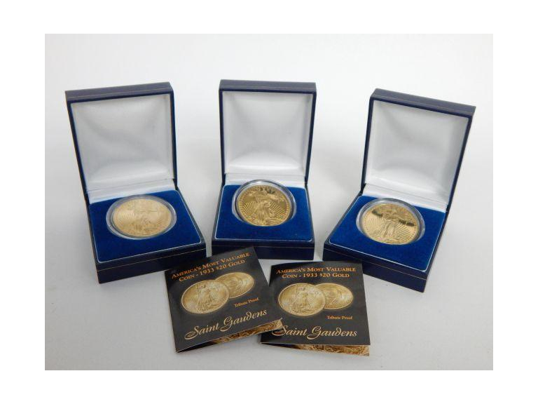 Collection of Commemorative $20 Liberty Coins