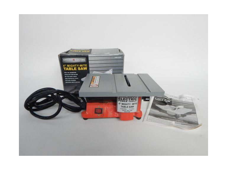 Mighty-Mite 4'' Table Saw