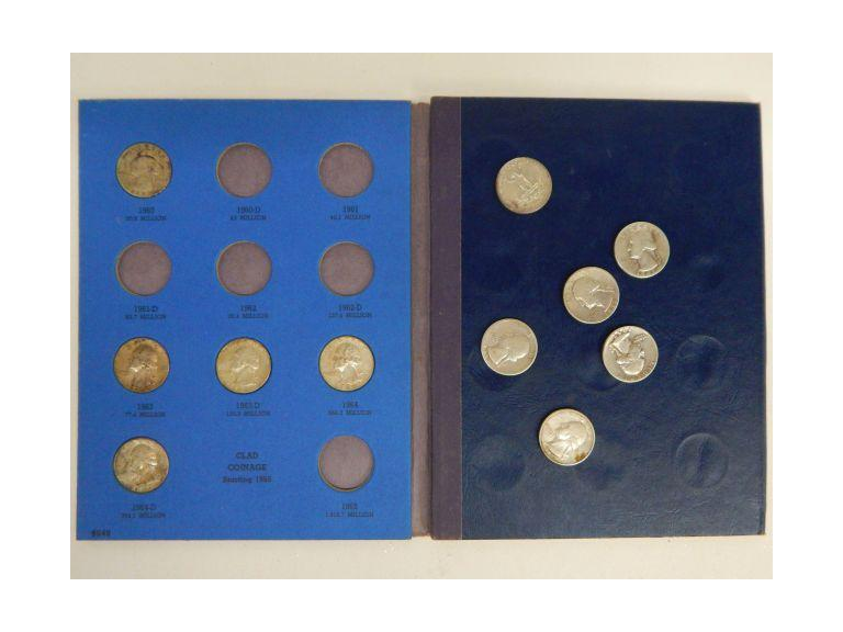 Collection of Silver Quarters