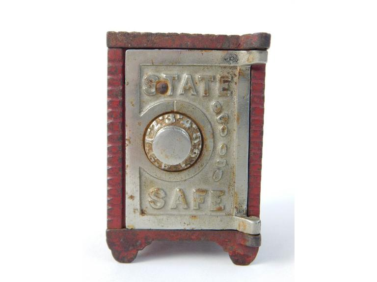 State Safe Metal Coin Bank
