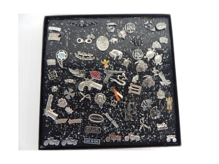 Collection of Various Lapel Pins