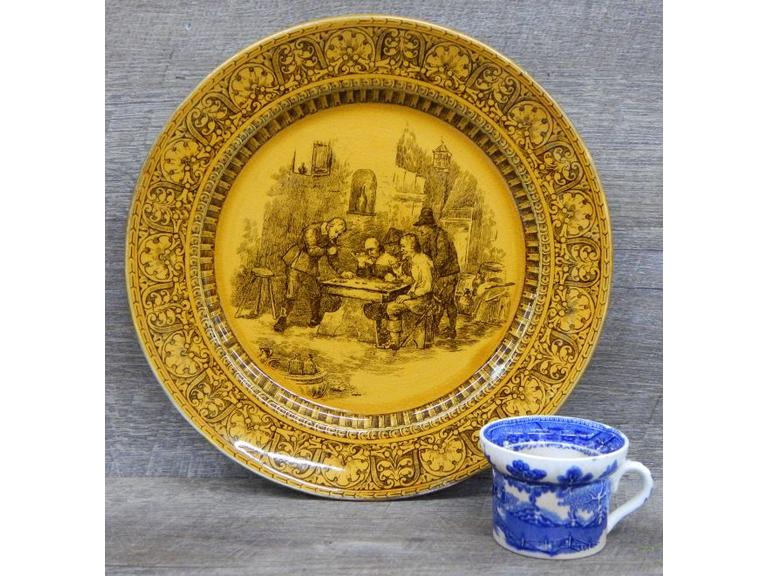 Early Royal Doulton Plate and Cup