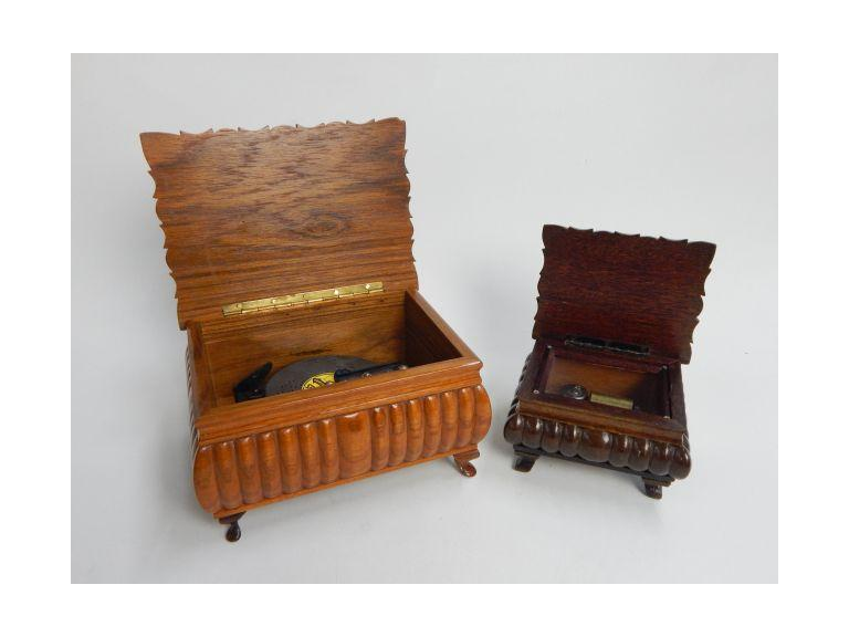 Thoren's Swiss Wood Cased Music Boxes