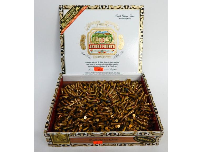 Cigar Box Full of .22 Cartridges No.2