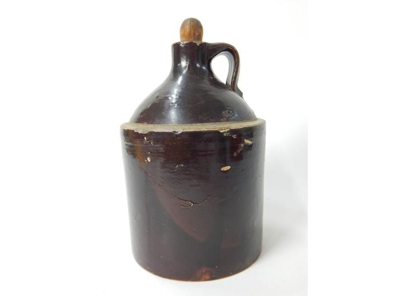 Antique Stoneware 1/2 Gallon Jug
