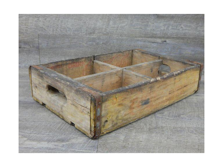 Coca Cola Wooden Shipping Crate