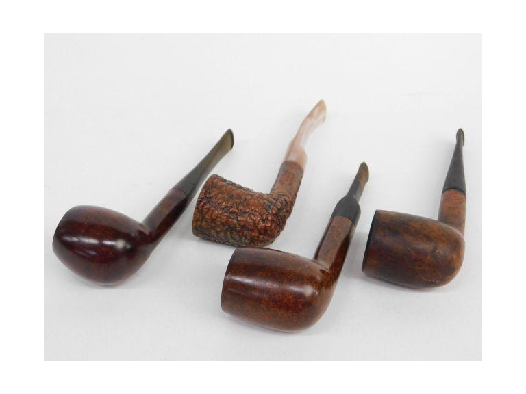 Nice Briar Pipe Lot of 4