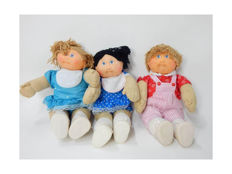 Collection of Cabbage Patch Dolls