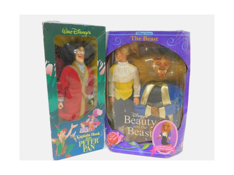 Disney's Captain Hook and The Beast Dolls