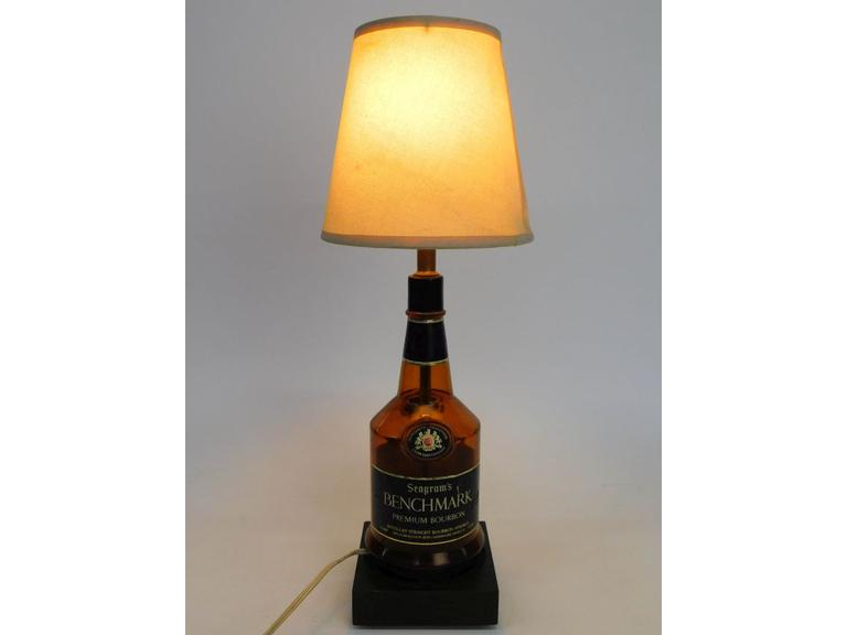 Seagram's Benchmark Bottle Lamp
