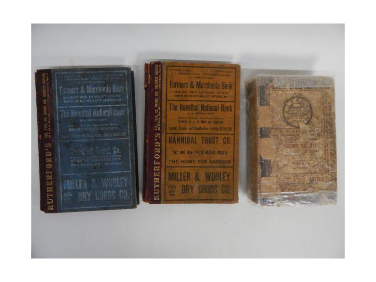 Collection of Antique Directories