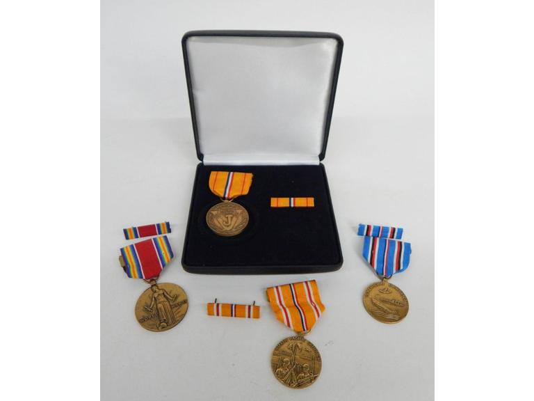 Collection of WW2 Participation Medals