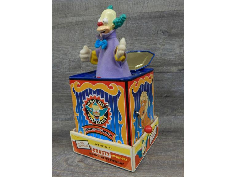 Simpsons Krusty The Clown Jack in the Box
