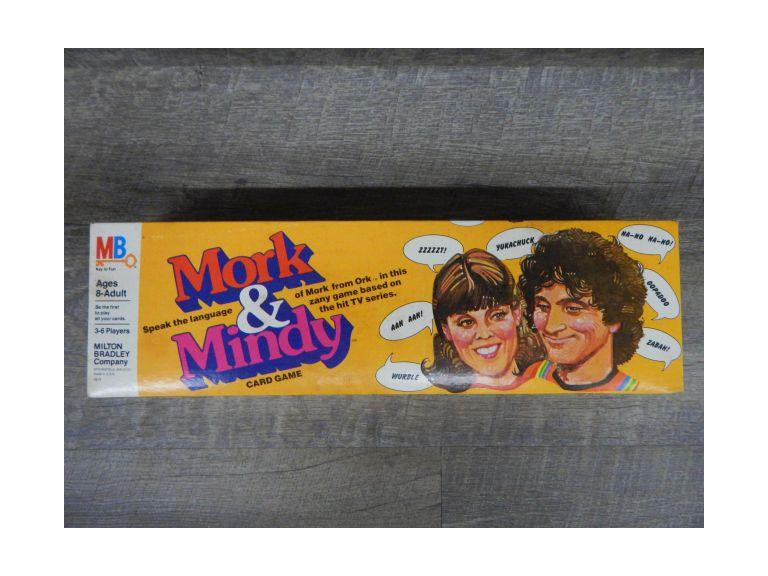 Mork & Mindy Card Game
